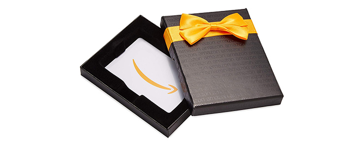 Amazonギフト券のプレゼント