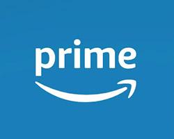 Amazonプライムのロゴのスクショ