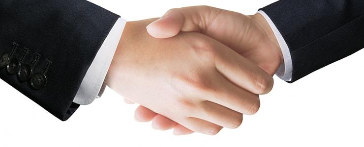 買取業者との交渉イメージ